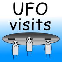UFO visits